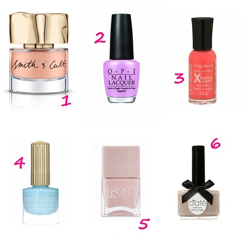 6 Spring Nail Colors You'll Love